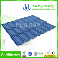 colorful stone coated steel roofing tile/spanish style roof tiles