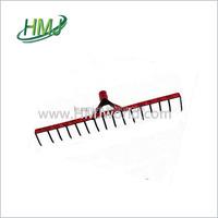 Wide varieties long handle plastic garden rake from China