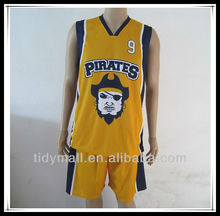 100% polyester any color men sublimation custom 3xs-5xl basketball jersey with short