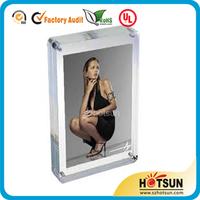 2014 new style acrylic photofunia/photo frame,acrylic fridge magnet photo frames,acrylic photo coaster