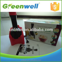 Factory outlet Healthy lifestyle frozen fruit into ice cream machine