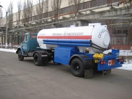 La semirremolque - tanque de 96092 P para gas 23494 EUR