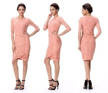 Wholesale Fashion Plus Size XXXL Bandage Dress