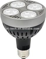 Mico fan inside par30 35w led track light