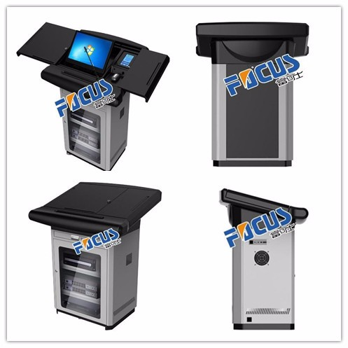 Secretária/mesa/mesa do computador/multimedia podium/tribuna/púlpito/quiosque/e-pódio/pódio inteligente