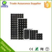A grade quality 100W 18V panel surya