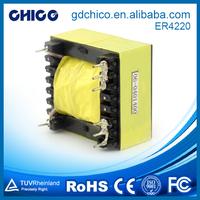 ER4220 moderate price rohs small electrical transformer,25kva transformer