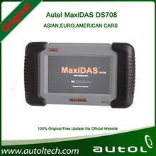 2015 New Arrival Autel MaxiDAS DS708 Automotive Diagnostic and Analysis System ALL electronic systems live data ECU programming