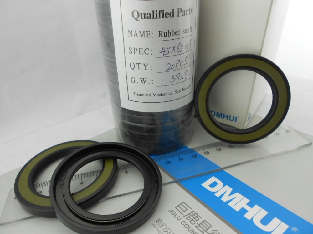 Customized hot-sale seal BAKHDSN TYPE skeleton oil seal 45*65*7/6