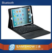Flexible Laptop Keyboard Picture Silicone Wireless 9.7 Inch Pc Leather Tablet Bluetooth Keyboard Leather Case For Ipad Air 2