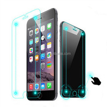 2015 Newest mobile phone accesories smart tempered glass screen protector for iphone 6/6 plus with smart return and confirm key