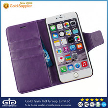 Wallet PU Leather Case Mobile Phone Case For iPhone 6 plus
