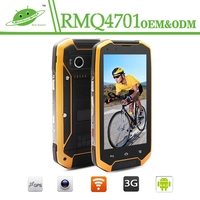Wholesale IP48 4.7'' 2+16GB Android Octa Core 13.0M Camera 4G LTE 3G WIFI GPS NFC Waterproof Smart Rugged Mobile Cell Phone