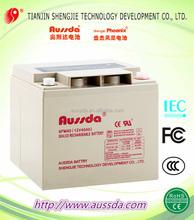 Aussda 12V 40ah storage GEL battery for Microgrid/UPS/inverter