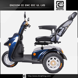 fashion life style china economy BRI-S06 ceelectric passenger tricycle three wheel scooter