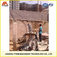 hydraulic cutting machine, pile breaker cutter, KP500S, hydraulic pile cutter, crush the piles wholly
