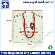 happy birthday gift packaging bag for kids