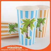 Disposable paper cup, single wall paper cup, cold drink paper cup