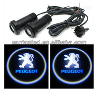 led ghost shadow car logo light ghost shadow light