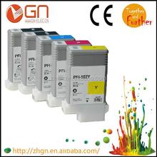 China Factory PFI102 PFI 102 Ink Cartridge for Canon IPF500 IPF510 IPF600 IPF605 IPF610 IPF700 IPF710 IPF720 Printer