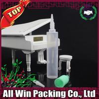30ml pen e liquid bottle light green childproof cap plastic PE bottle