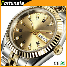 High quality luxury 18K gold watch for men