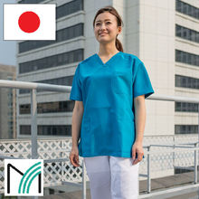 medical scrubs and uniform japanese high quality antibacterial polyester