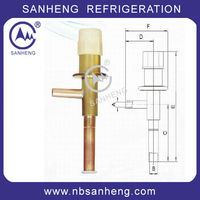 SAV Series Automatic Expansion Valve Hot Gas Bypass Valve