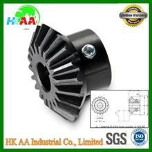 Custom machining black oxide angular gears, best quality angular bevel gears TS standard good after-sale service