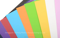 High Quality pp sheet transparent colored plastic 2mm sheet