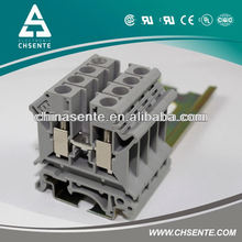 DIN Rail terminals Size 16mm2 industrial distribution terminal blocks uk ul certificate