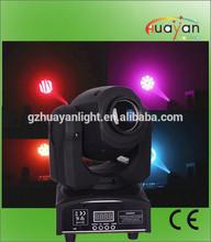 Factory price mini 7 gobos+white 10w moving head led spot light