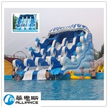Water Park Equipment For Sale /Cheap Water Park Equipment For Sale/18ft inflatable slide water park slides for sale