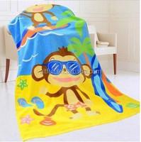 100% cotton printed beach towel fabric