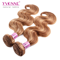 Unprocessed weave hair 5a brazilian hair body wave ombre color hair