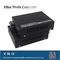 1000Base TX a FX 1000M Ethernet Fibra convertidor de medios