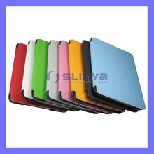 60 Degree Fold Color PU Leather Stand Case For iPad Mini Protector