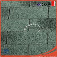 12 Colors UV-Resistant Asphalt Shingles for Roofing
