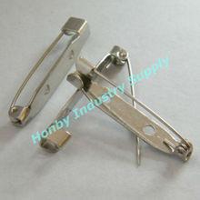25mm DIY Glue/Sew-on Metal Brooch Back Bar Pin
