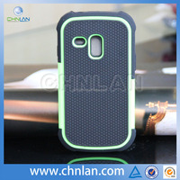 2014 hot selling shock proof football design for Samsung Galaxy s3 mini 3 in 1 case