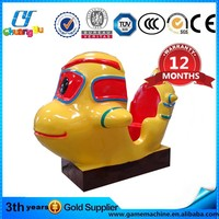CY-KM08 coin operated ride coin pusher machine amusement rides for sale used