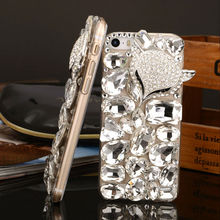 Full Crystal Bling Stone Diamond Case for iPhone 6 and iPhone 6 plus Mobile Phone Cover