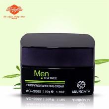 Men Tea Tree Skin Peeling & Purifying Exfoliating Cream