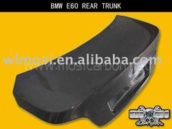 CARBON FIBER CAR REAR TRUNK FOR BMW E60