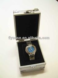 Aluminum Watches Box, Transparent Watch Box, Single display Watch Box