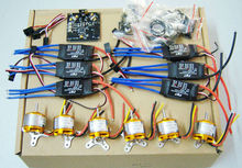 F05114-D RC HexaCopter ARF Electronic: KK Multicopter V2.3 Hex-Rotor Flight Control Board 30A ESC A2212 1000KV Motor