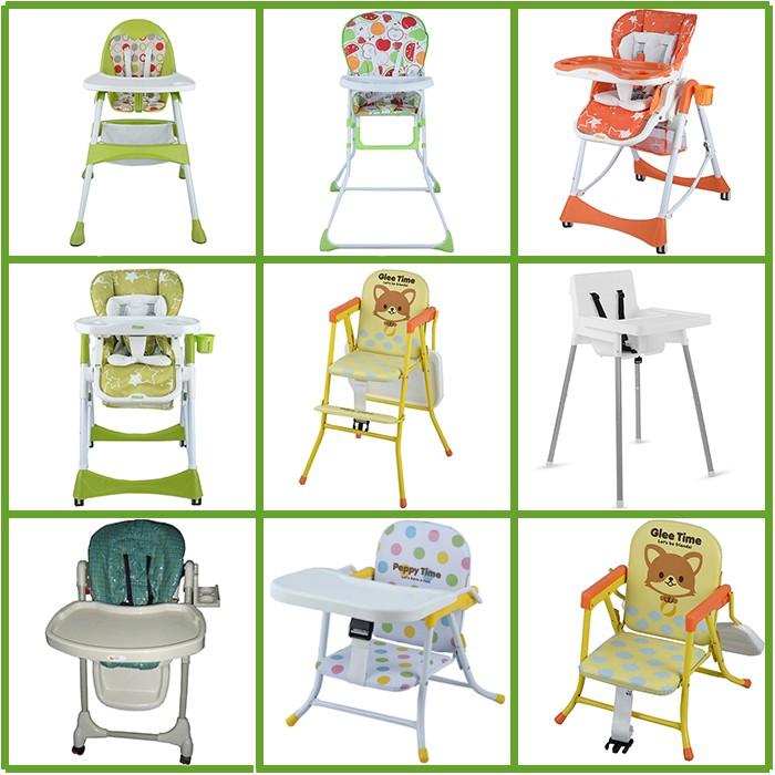 Multi-fonction D'alimentation bébé chaise haute, 3 en 1 pliant adulte bébé chaise haute