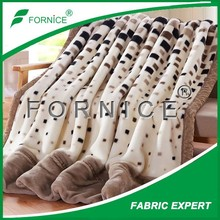 Chinese Factory direct sale double-faced pile coral fleece