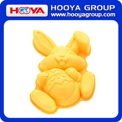 Easter Bunny Rabbit Premium Food Grade Silicone Cake Mould