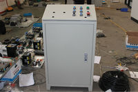 industrial sheet metal electric power control box with buttons